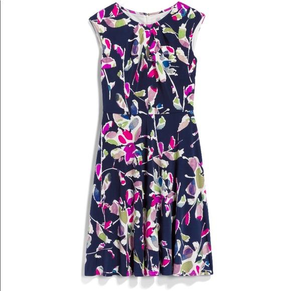 Wisp Dresses & Skirts - Navy Floral Dress